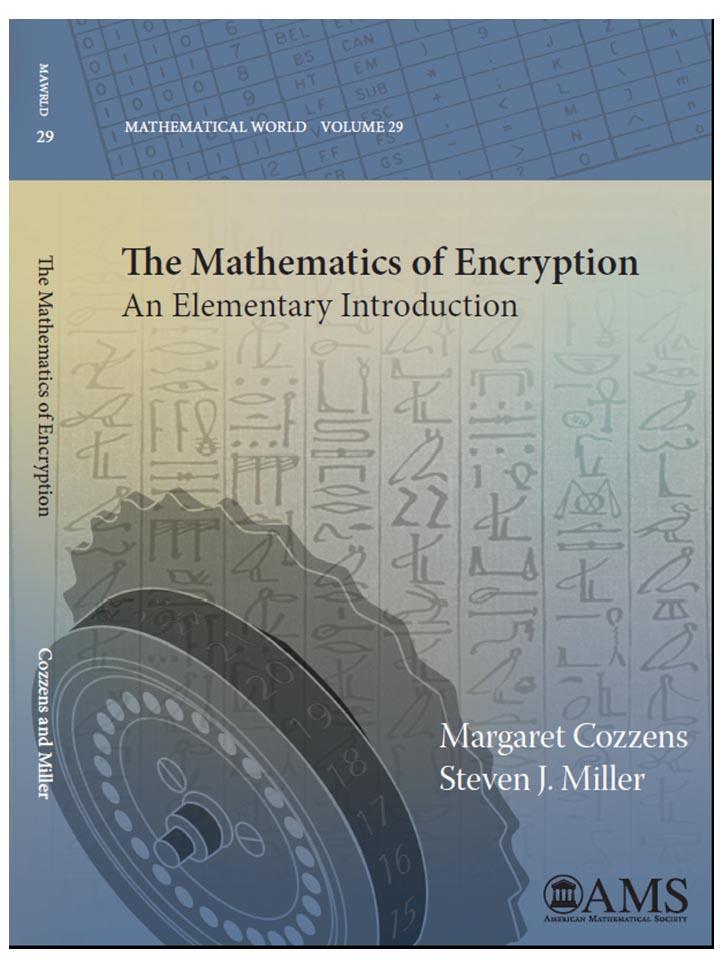 Mathematics of Encryption book cover