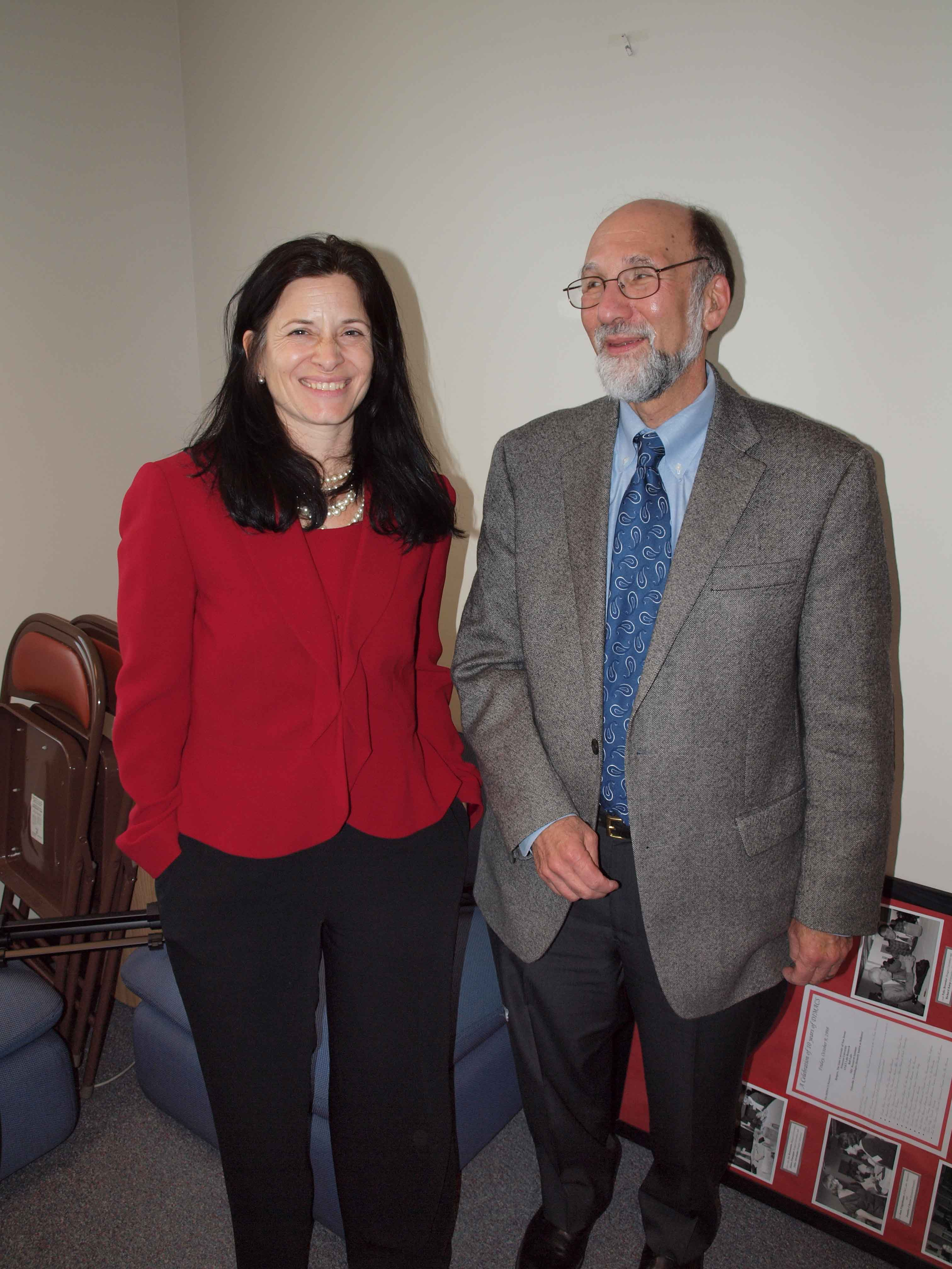 Rebecca Wright and Fred Roberts