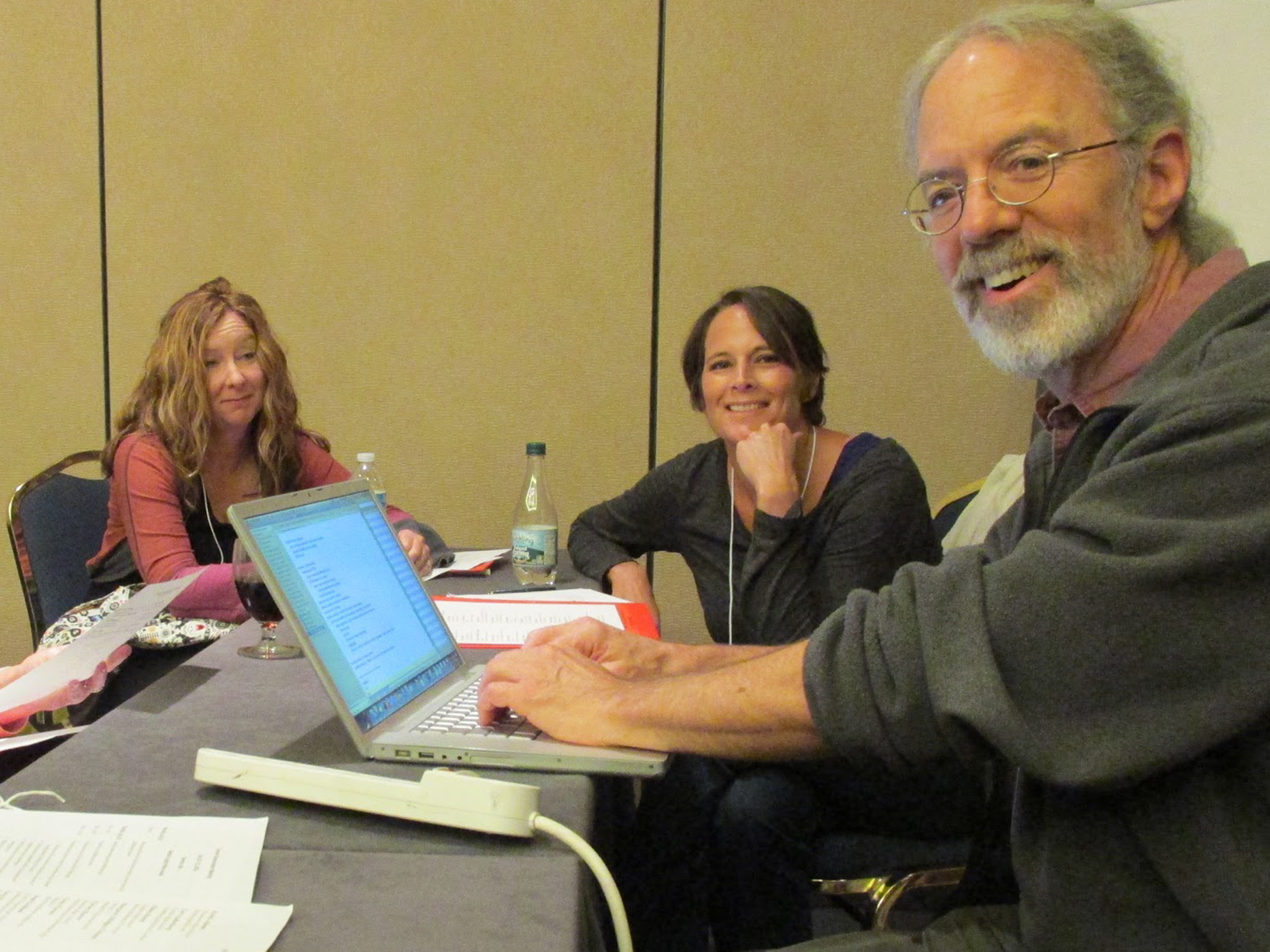 BioMath module co-author Gary Benson works with high school teachers
