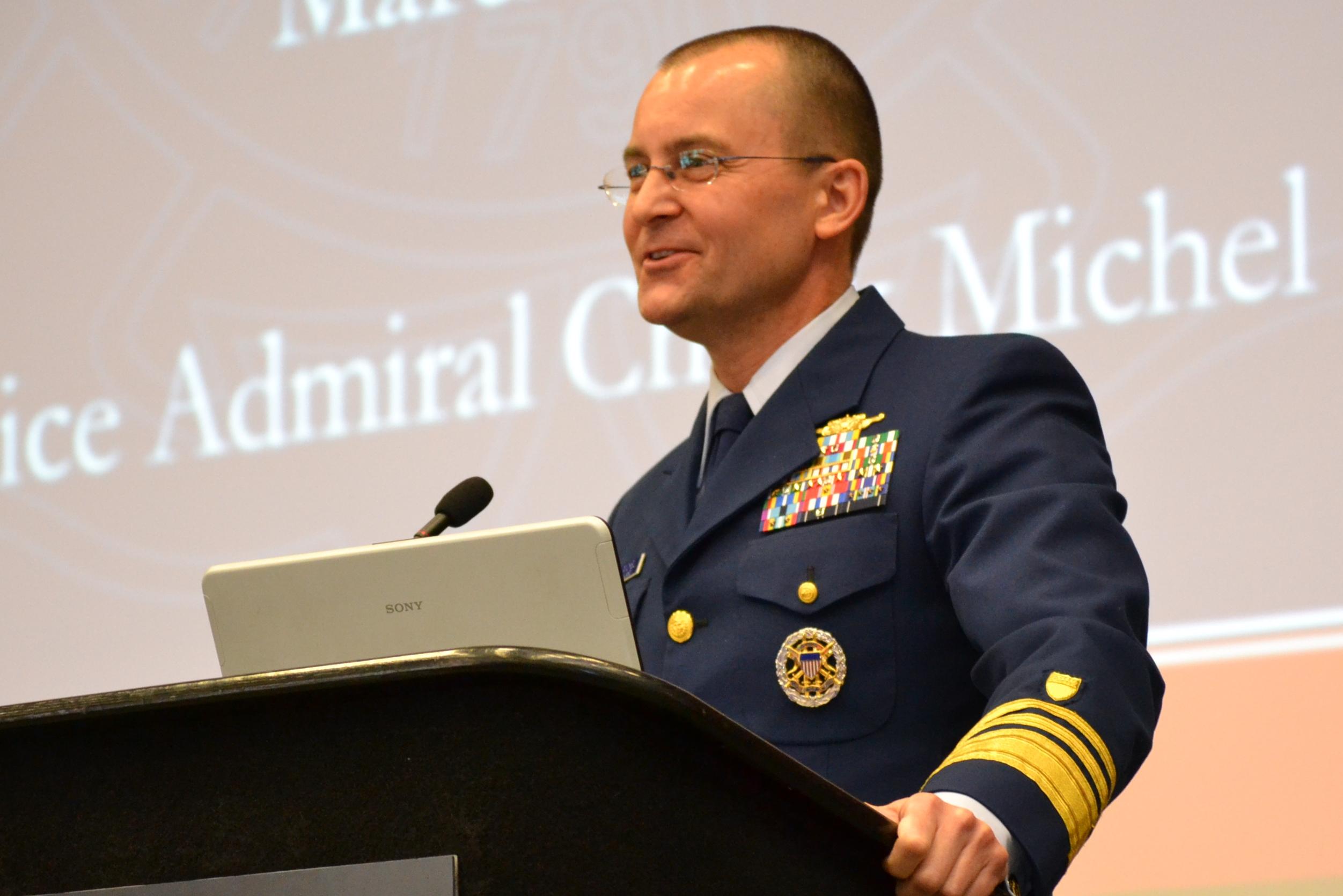 Vice Admiral Chuck Michel