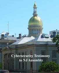 Cybersecurity testimony