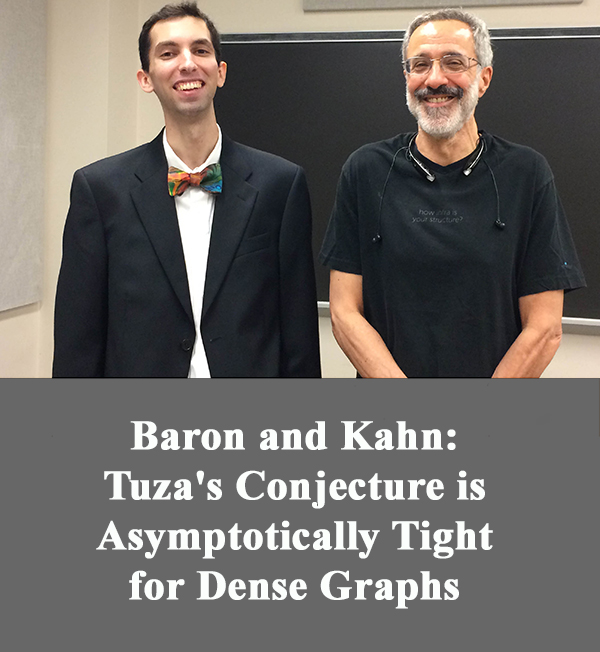 Tuza's Conjecture in Dense Graphs