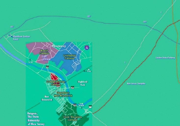 DIMACS Maps